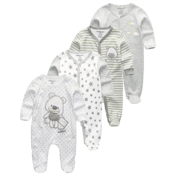 Baby Clothes Boy Girl Clothes Romper Long Sleeve Autumn Winter Jumpsuit Newborn Clothing Sets Cartoon Animal 2020 newborn baby winter hoodie clothes boys baby clothing girl 9m 24m boy jumpsuit christmas baby romper warm clothing for kids