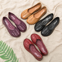 AARDIMI 100% Genuine Leather Women Flats Shoes Casual Female Loafers Floral Shallow Mocassins Femme Solid Flat Shoes Woman