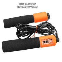 2.8M Adjustable Jump Rope With Accurate Counter Ultra-Safe Lightweight Jump Rope With Anti-slip Handle for Kids Sport Training