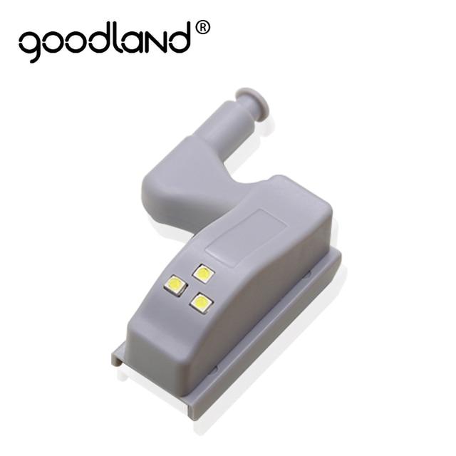 Goodland LED Sotto Luce del Governo Armadio Universale Sensore di Luce Led Armario Interno Cerniera Lampada Per Armadio Armadio Da Cucina