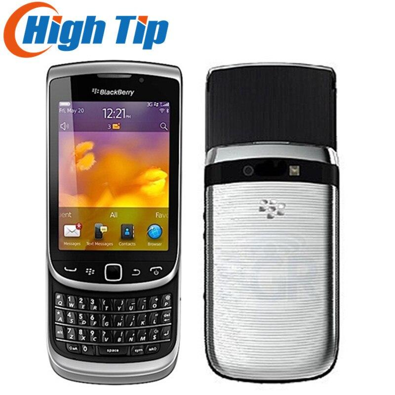 Original débloqué BlackBerry torche 9810 téléphone mobile remis à neuf 3G téléphone 8G ROM caméra 5.0MP remis à neuf livraison gratuite