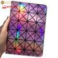 """Caso Para O ipad air 2 9.7 """"laser de moda de luxo de bling do diamante capa colorida inteligente para ipad air 9.7 polegadas capa para ipad 5 & 6"""