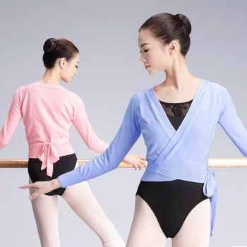 Winter Girls Adult Leotards Overall Ballet Wrap Sweaters Ballerina Gymnastics Ballet Dance Warm Up For Women - DISCOUNT ITEM  14% OFF All Category