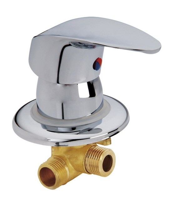Aliexpress.com : Buy 2 inlet 1 outlet water brass shower room mixer ...