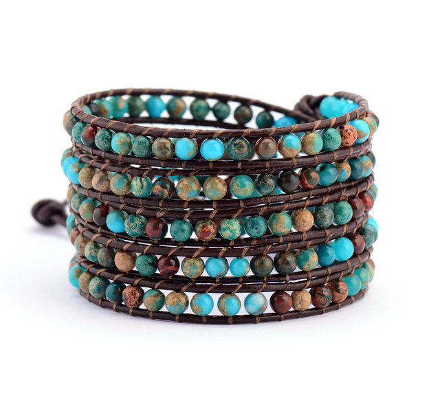 bracelet turquoise yoga com views flower alternative htm p itssimplyzen silver wrap with