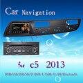 Mapa livre e câmera 7 inch quente para Citroen C5 2013 GPS Do Carro Do Jogador Navigation Radio Bluetooth Volante do carro controle