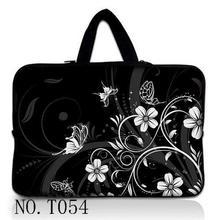 Black 10 11 6 13 14 15 17 Portable Flower font b Laptop b font Bag