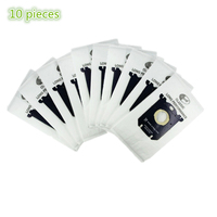 10x Vacuum Cleaner Bags Dust Bag Filter S Bag Replacement For Philips FC9176 FC9150 FC 9073