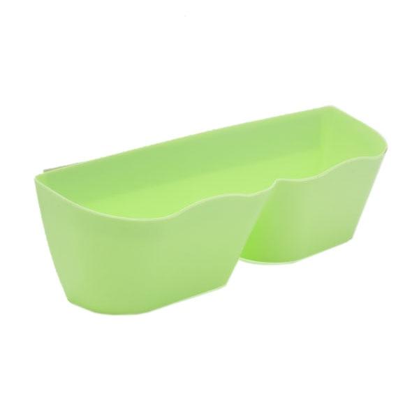 Best Wavy edge plastic Wall-mounted shoe rack(green)