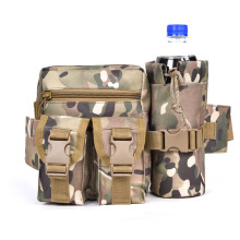 Large Capacity Outdoor Cycling Sports Bag Nylon Tactical Bag Chest Pack Small Pouch Belt Water Bottle Waist Bag