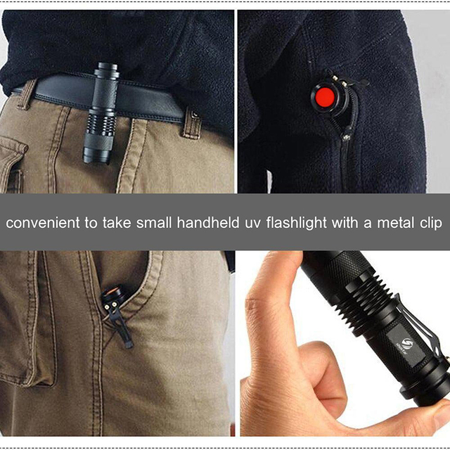 Waterproof Portable Powerful Flashlight Marker Checker Detection