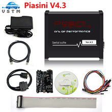 Newly Black PIASINI v4.3 4.1 MASTER Full Version ECU Programmer Serial Suite(JTAG-BDM- K-line-L-line-RS232- CAN-BUS )(China)