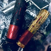 New arrival Suicide queen Mechanical Mod Fit 18650 20700 Mech MOD 26mm diameter 510 Connection Brass material vape pen