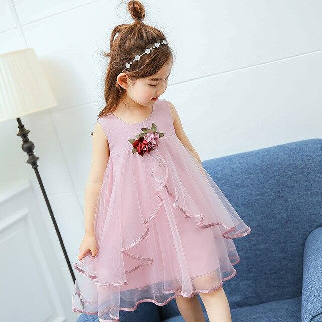 c92a1b26f Anlencool 2019 New summer children fashion girls dress Korean girls ...