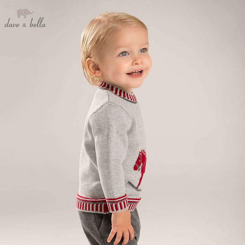 db6020 dave bella autumn new born baby girls boys knitted sweater romper infant toddler children stars printed clothes DB5902 dave bella autumn infant baby boys cotton pullover sweater lovely clothes toddler children knitted Sweater