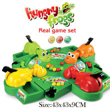 Feeding Frog Game Multiplayer Plastic Board Game Fun Funny Gadgets Parent Child Interaction Feeding Frogs Educational Toys