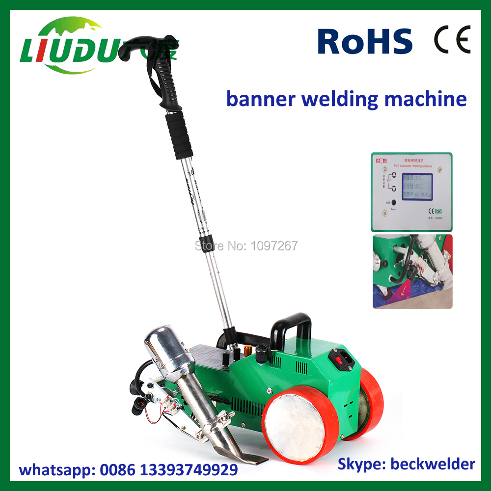 Hot Air Banner Welder/high-frequency Plastic Welding Machine For Sale Clear And Distinctive Plastic Welders