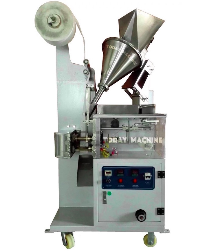 Paper Tea Bag Packing Machine With String And Tag