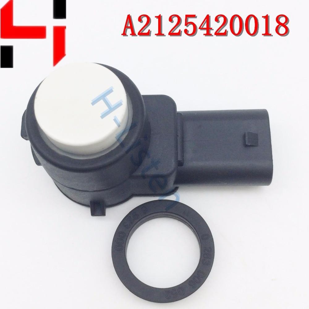 (4 հատ) Բարձրորակ կայանման պլաստիկ ցուցիչ PDC 2125420018, A2125420018 A B C S E SLK CL CLS դասի համար Սպիտակ գույն