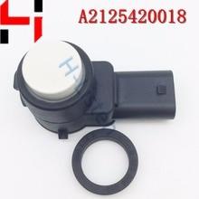 (4pcs) High Quality Parking Plastic Sensor PDC 2125420018 ,A2125420018 for A B C S E SLK CL CLS Class White color