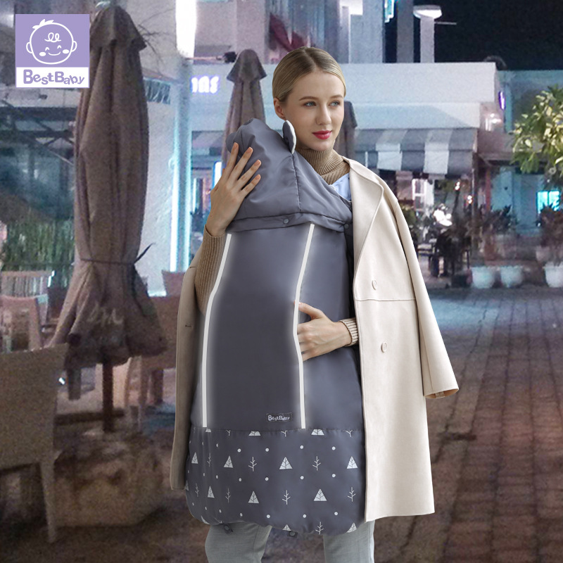 Activity & Gear Best Baby Winter Baby Carrier Cloak Warm Cape Stroller Pram Cover Wind Rain Snow Proof With Baby Car