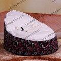 FRETE GRÁTIS assento de bebê com 2 pcs branco up cover bebê bebê beanbags cadeira do saco de feijão cadeira do saco de feijão do saco de feijão móveis