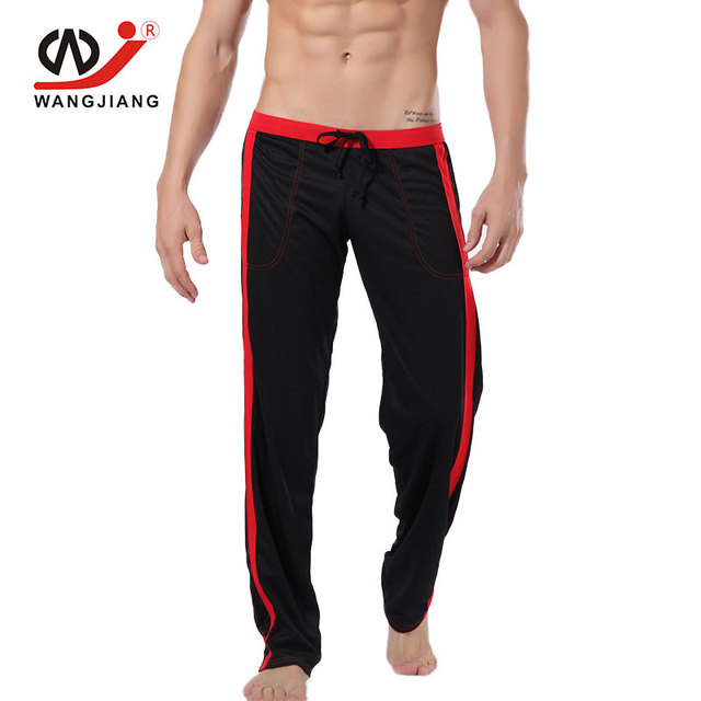 WJ Track Pants Pantalon Homme Mens Joggers Clothing Sweatpants Pantalones Hombre Polyester Men Homme Mens Sexy Spor ts Pants