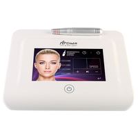 New Artmex V11 Pro Digital Eyebrow Lip Tattoo Machine Permanent Makeup Micro needle Therapy Device MTS PMU System