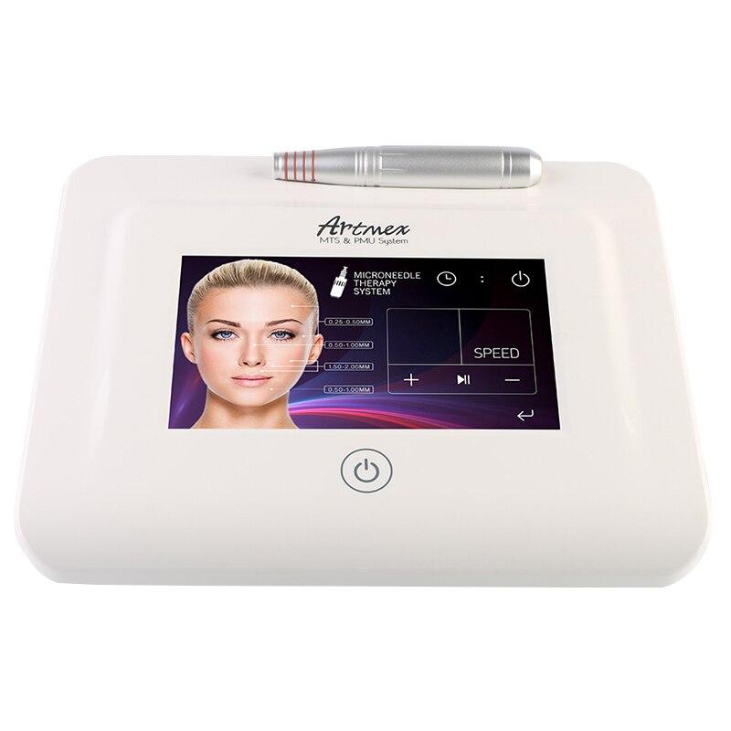 Nouveau Artmex V11 Pro Numérique Lèvres Sourcils Machine de Tatouage Permanent Maquillage Micro-aiguille Thérapie Dispositif MTS PMU Système