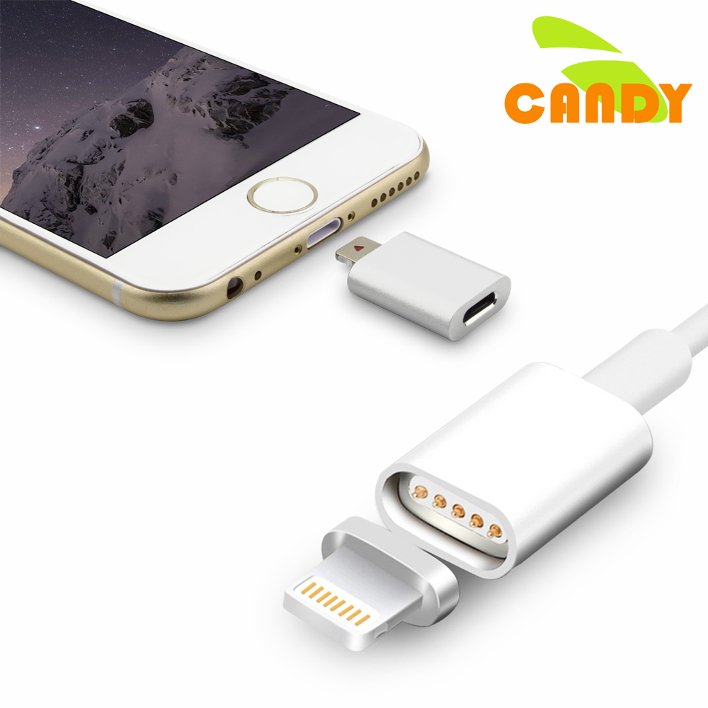 Magnetic Mobile Phone Adapter For iPhone 6s 5S SE Cable ...
