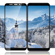 HD Silk-printed Tempered Glass Screen Protector for Xiaomi Redmi 5 Plus 5 pro 5 4X Note 4X Glass for Xiaomi PocophoneF1 mi max 3(China)
