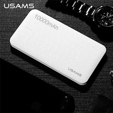 USAMS Mosaic Series 5000/10000mAh Mobile Power Bank for Mobile Phone Tablet Dual USB Powerbank for iphone Samsung LG Xiaomi Etc.