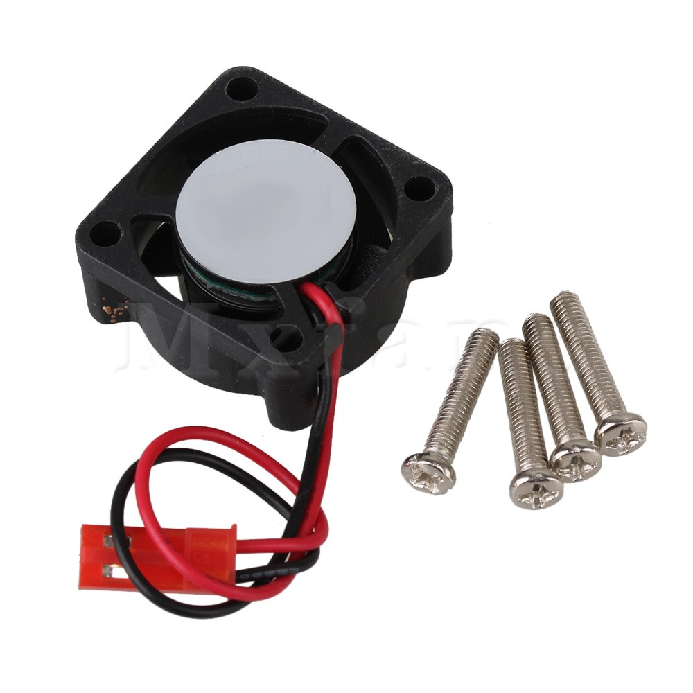 Mxfans 25 x 25mm N10046 Black Brushless Motor Cooling Cooler Fan for RC Model Car Buggy скейтборды penny комплект лонгборд original 22 ss