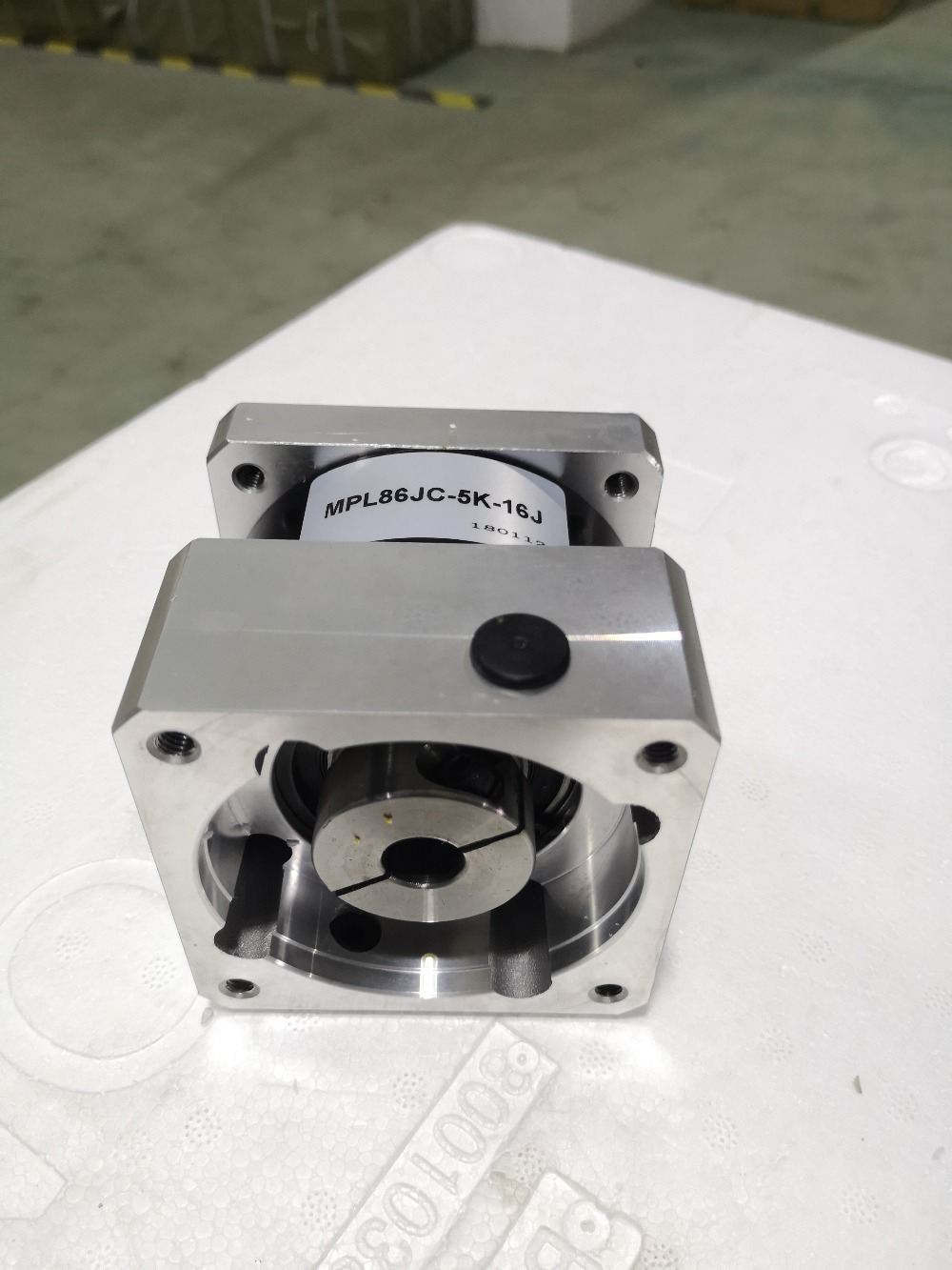 New 5:1 NEMA34 Planetary Gearbox for 86 mm Gear Stepper Motor 50N.m (6944oz-in) Rated Torque Ratio