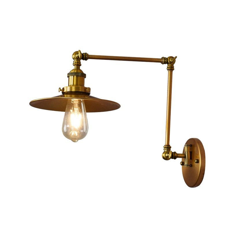 Loft Style Industrial Vintage Wall Lamp Edison Wall Sconce Adjustable LED Wall Light Fixtures Home Indoor Lighting Arandela iwhd loft style creative retro wheels droplight edison industrial vintage pendant light fixtures iron led hanging lamp lighting