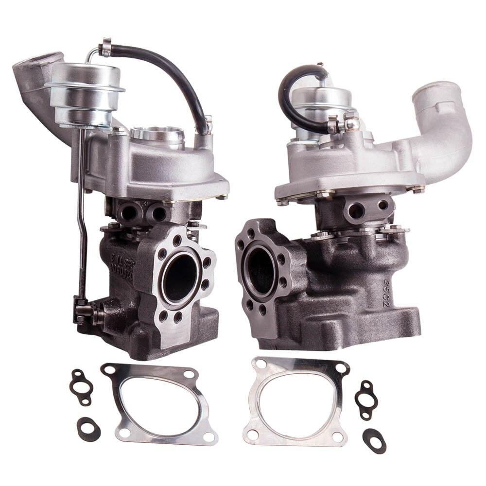 Mise à niveau TCT double Turbo pour Audi RS4 2.7L K04-025 026 Quattro ASJ 53049880025 53049700026 K04-025 026 Turbo