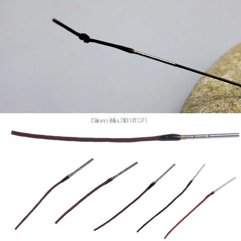 Wholesale 5PCS Newest Rod Tip Maximumcatch Rod Tip 12FT And 13FT Tenkara Fly Fishing Rod Fly Rod Tip 0.8mm-1.6mm