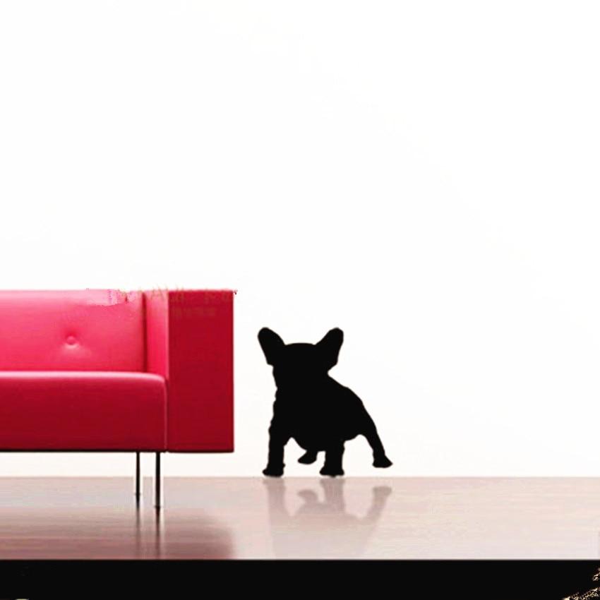 býk pes zvíře velký francouzský buldoček vinylová zeď obtisky nástěnné dekorace obývací pokoj