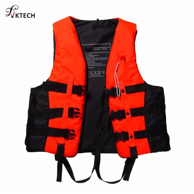 Polyester Adult Life Vest Jacket Swimming Boating Ski Drifting Life Vest with Whistle S-XXXL Sizes Water Sports Man Women Jacket