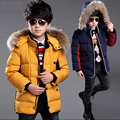 2016 baby boys clothing cold winter thick warm cotton jacket coat parkas,children's / kids casual sport jacket outerwear for boy