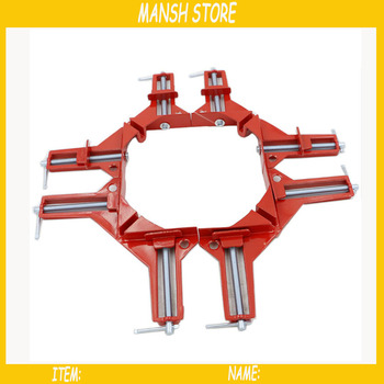 20pcs/lot 90 Degree Right Angle Clamps DIY Woodworking Picture Frame Fish Tank Corner Clamping Kit Corner Clips Wookworking Tool