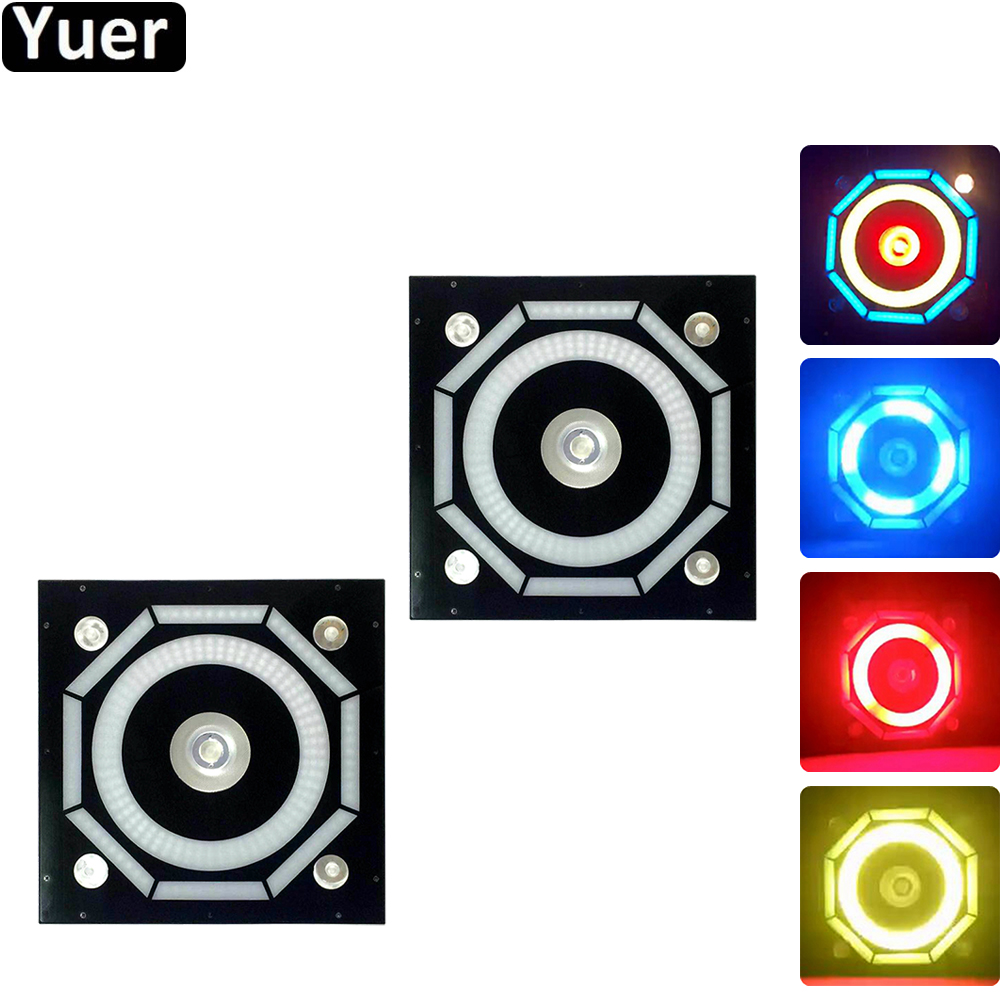 2Pcs/Lot LED 240 Halo Pixels Background Light Strobe Disco For Festival Parties Music Club Sound party Flash Effect Stage Lights