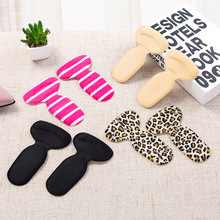 1 Pair Soft T-Shape High Heel Grips Liner Arch Support Orthotic Shoe Inserts Insoles Foot Heel Protector Cushion Pads for Women