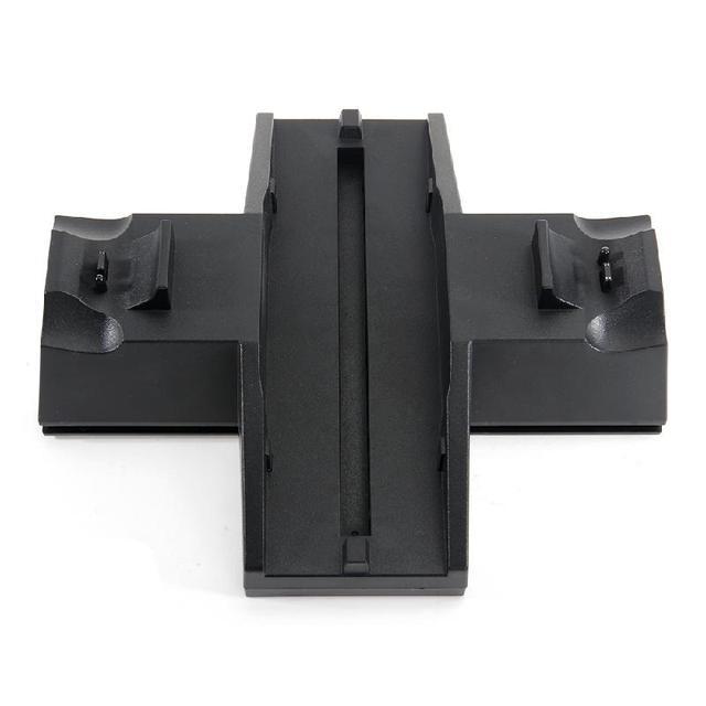 ДЛЯ ps4 зарядная станция и охлаждения Зарядки для PS4 Зарядное Устройство Док-Станция с 2 Вентилятор Охлаждения для PS4 Консоли Контроллера