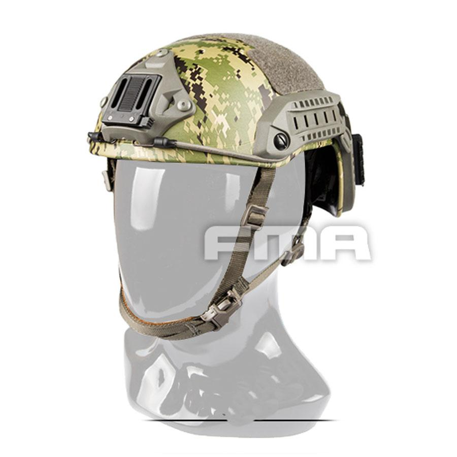 FMA New MH Type Jungle Camouflage Maritime Helmet AOR2 TB1181 M/L L/XL for Airsoft Climbing Free Shipping цена