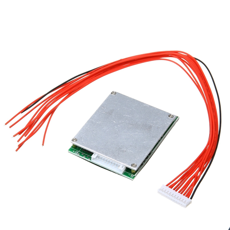 Tüketici Elektroniği'ten Pil Aksesuarları'de ABKT 10S 36V 35A Li Ion li polimer pil Bms Pcb koruma levhası denge destekler Ebike Escooter title=