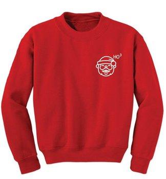 цена на Ho Ho Ho Santa Claus - Sweatshirt Shirt Hoodies  Christmas Sweatshirt Merry Hat Beard Suit Merry Hat Beard Suit-E551