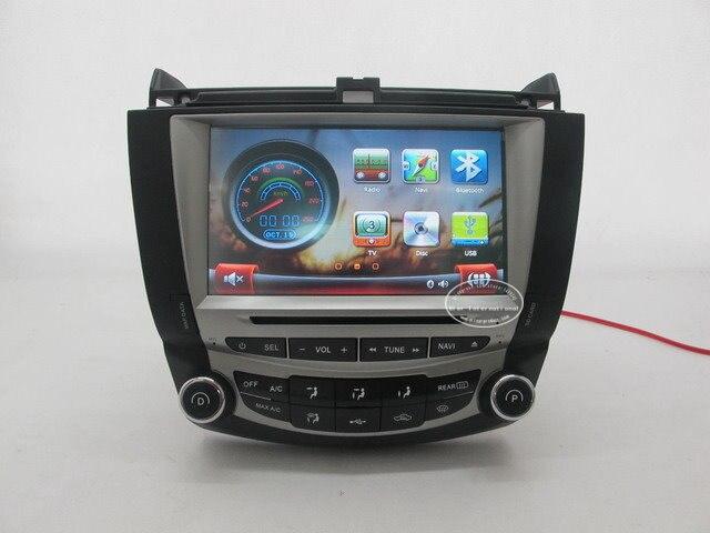 Para honda para accord (1 A/C) 2003 ~ 2007 Coches Reproductor de DVD GPS NAVI/Ra