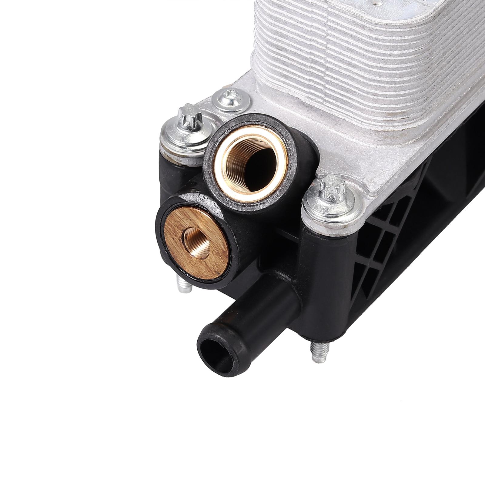 Justech Auto Oliekoeler Filter Behuizing 5184294AE/AD/AC Voor DODGE RAM CHRYSLER JEEP 3.6L V6 Motorolie filter Adapter Behuizing - 6
