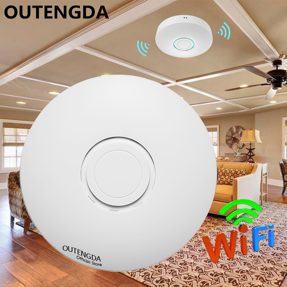цены 1200Mbps 11AC Dual Band Wireless Ceiling AP Router Access Point WiFi Repeater Ceiling-mounted AP Router 2.4G&5.8G Support POE